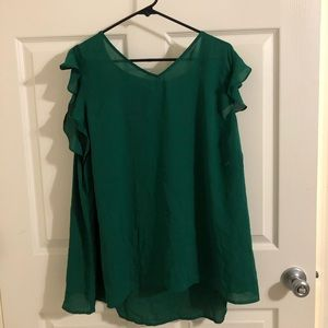 Green maurices blouse